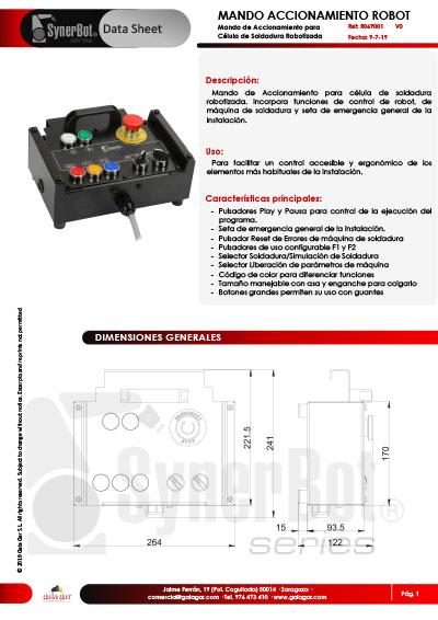 FT_R069001V0 - MANDO ACCIONAMIENTO ROBOT