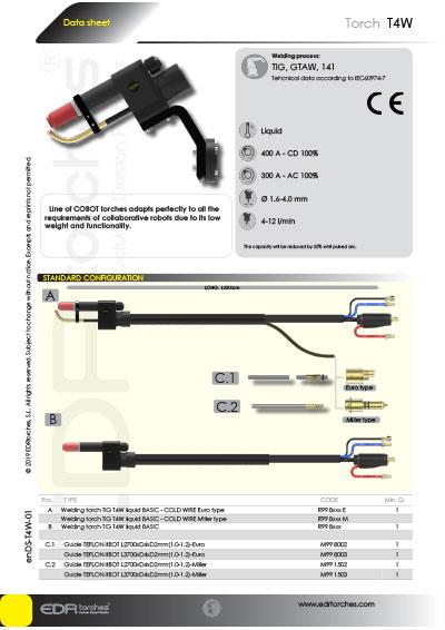 Ficha técnica DS-T4W